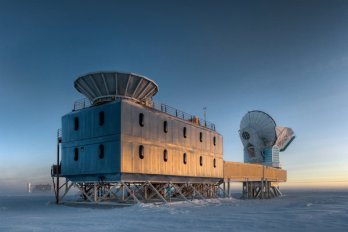 Bicep 2 Telescope near South Pole
